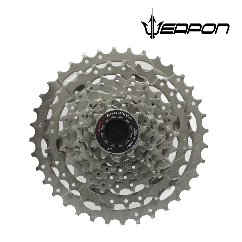Weapon Cassette - 8 speed - Silver